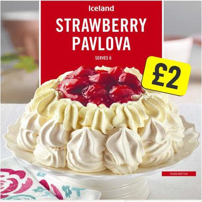 Picture of Iceland Strawberry Pavlova 310g