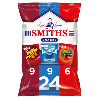 Picture of Smiths Variety Snacks 24 Pack