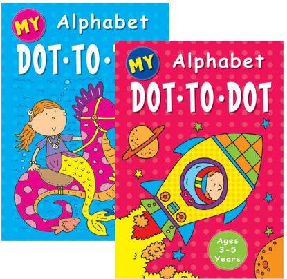 Picture of My Alphabet Dot To Dot Book - 0% VAT