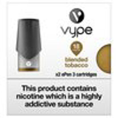 Picture of Vype ePen 3 Cartridges 6 pack – Blended Tobacco 18mg