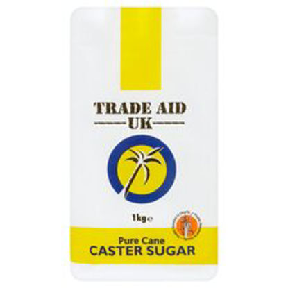 Picture of Trade Aid Uk Pure Cane Caster Sugar 1Kg