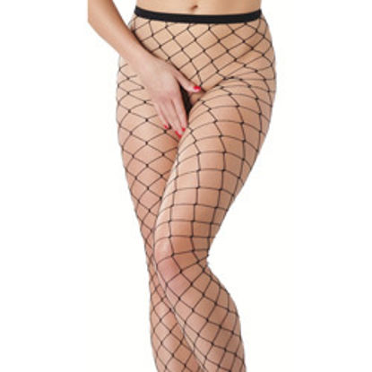 Picture of Black Fishnet Tights