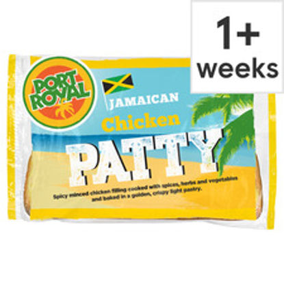 Picture of Port Royal Chicken Jamaican Patty 140G