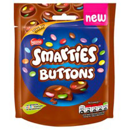 Picture of Nestle Smarties Buttons Milk Chocolate 90G
