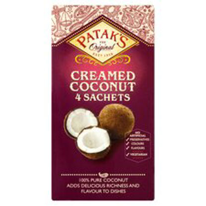 Picture of Pataks Creamed Coconut Sachets 200G