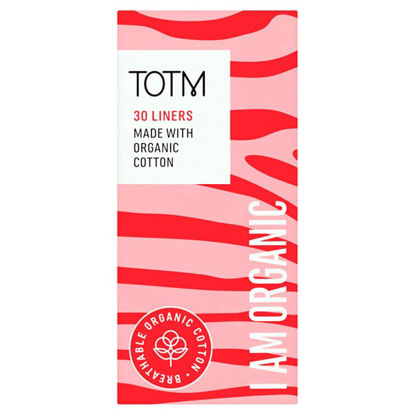 Picture of Totm Organic Cotton Daily Liners 30S