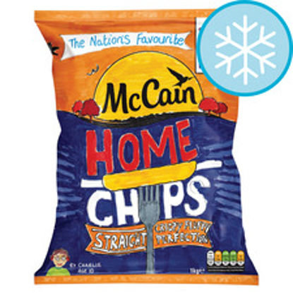 Picture of Mccain Home Chips Straight Cut 1Kg