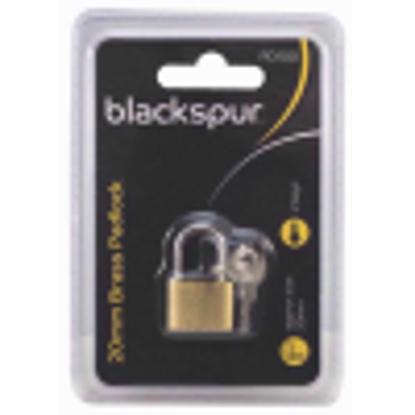 Picture of Blackspur BB-PD100 Brass Padlock