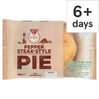 Picture of Fry's Meat Free Pepper Steak Style Pie 160G