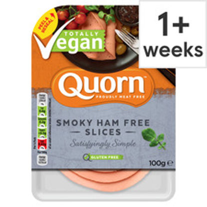 Picture of Quorn Vegan Smoky Ham Free Slice 100G