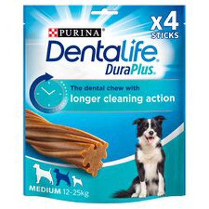 Picture of Purina Dentalife Duraplus Medium 4 Pack 197G