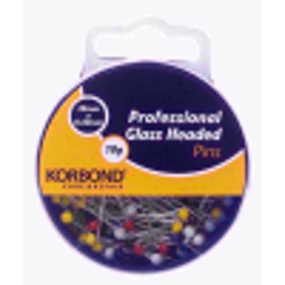 Picture of Korbond 10 g Professional Glass Headed Pins