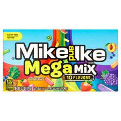 Picture of Mike & Ike Mega Mix Fruit Candies 10 Flavours 141G