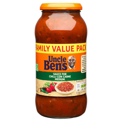 Picture of UNCLE BEN'S® Sauce for Chilli Con Carne Medium 675g