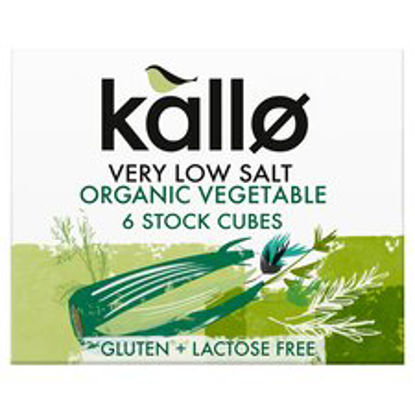 Picture of Kallo Very Low Salt Vegetable Stock Cube 60G