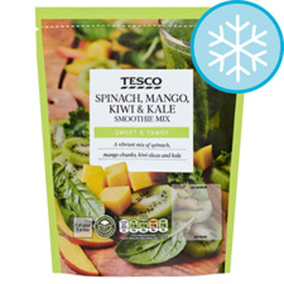 Picture of Tesco Spinach, Kiwi & Mango Superfood Smoothie 500G