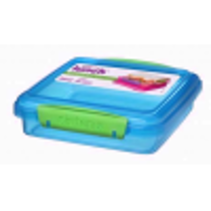 Picture of Sistema Lunch Sandwich Box - 450 ml, Assorted Colours