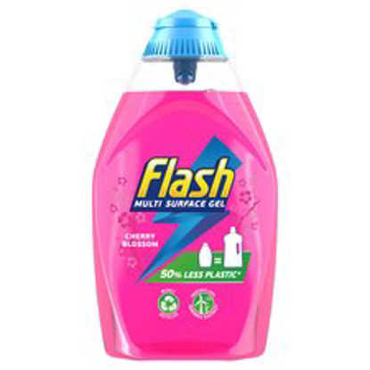 Picture of Flash Multi Surface Gel Cleaner Cherry Blossom 600Ml