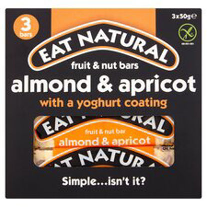 Picture of Eat Natural Yogurt Almond & Apricot Bars 3X50g