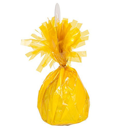 Picture of Foil Yellow Balloon Weight