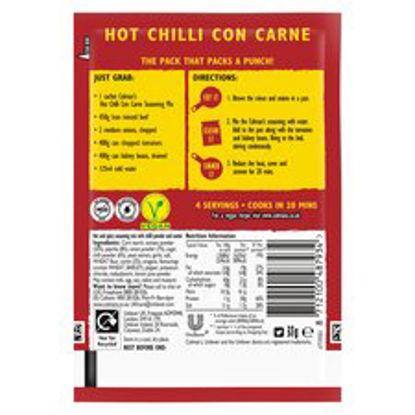 Picture of Colman's Hot Con Carne Recipe Mix 37G