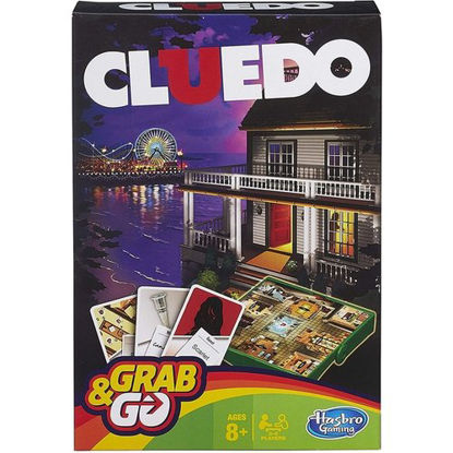 Picture of GRAB AND GO CLUEDO 4