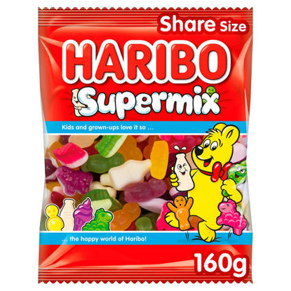Picture of HARIBO Supermix Bag 160g