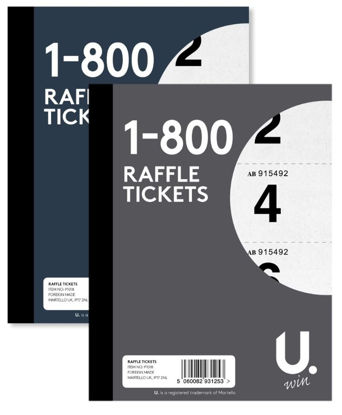 Picture of Raffle Tickets - Numbers 1 - 800