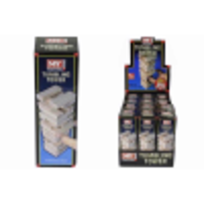 Picture of MINI 48PC WOODEN TOWER GAME IN BOX