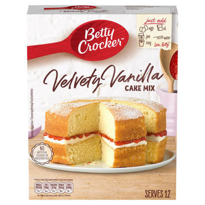 Picture of Betty Crocker Vanilla Cake Mix 425G