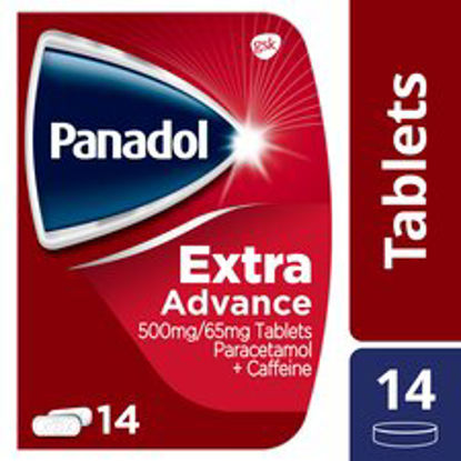 Picture of Panadol Extra Advance Tablets 14S