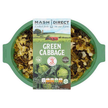 Picture of Mash Direct Green Cabbage 280g