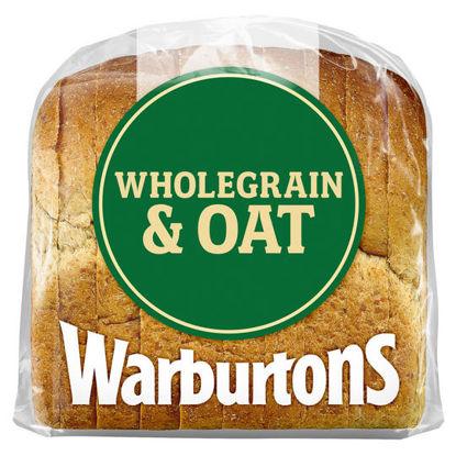 Picture of Warburtons Premium Wholegrain & Oat Bread 400g