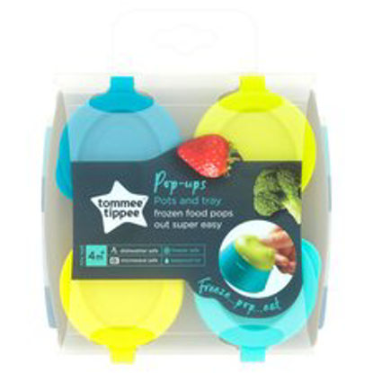Picture of Tommee Tippee Explora Freezer Tray 4X 2Oz Pots White