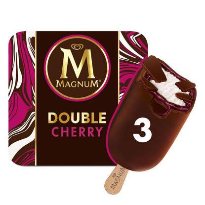 Picture of Magnum Double Cherry Ice Cream 3 X 88Ml