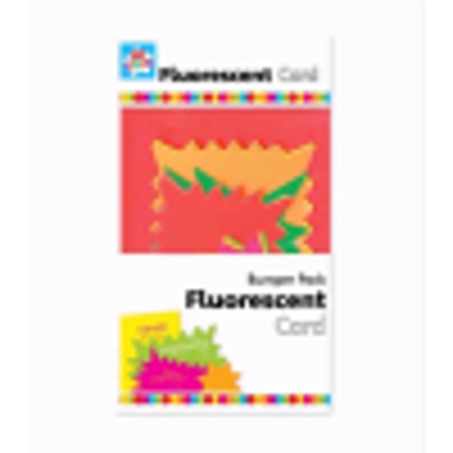 Picture of Anker Kids Create Arts and Crafts Bumper Card Pack, Plastic, Fluorescent