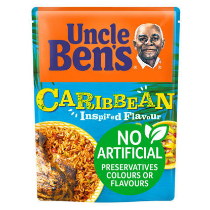Picture of Uncle Bens Caribbean Microwave Rice 250g