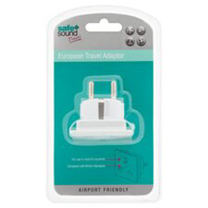 Picture of Safe And Sound Euro Travel Adaptor
