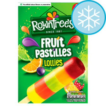 Picture of Rowntrees Fruit Pastilles Lollies 4X65ml