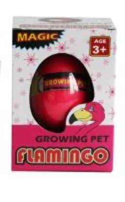 Picture of Magic Growing Pet Flamingo Egg Growing Pet - Pink