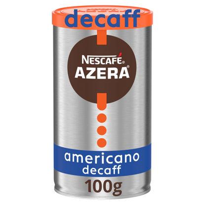 Picture of Nescafe Azera Americano Decaffeinated Instant Coffee 100g