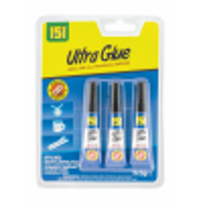 Picture of ULTRA GLUE - EXTRA STRONG SUPER GLUE 3g pack of 3.