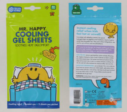Picture of Mr Happy Cooling Gel Sheets For Cooling Relief - Pack Of 2 - Exp 5/18