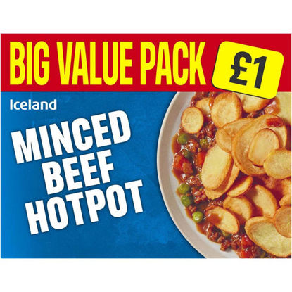 Picture of Iceland Minced Beef Hotpot 500g
