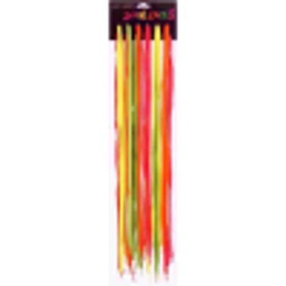 Picture of 12 Pack of Neon Bright Laces in Pairs