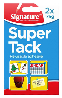 Picture of Signature Reusable Adhesive Super Tack - 2 x 75G
