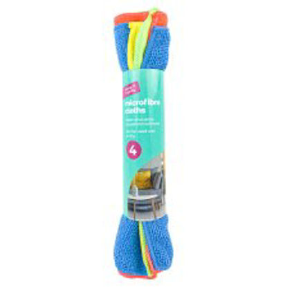Picture of Keep It Handy Microfibre Cloths 4 Pack