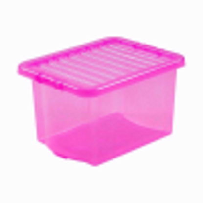 Picture of WHAM CRYSTAL 24LTR PINK BOX & LID