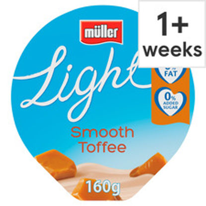 Picture of Muller Light Toffee Yogurt 160G