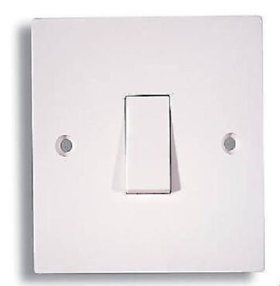 Picture of Details about 1 Gang 2 Way Light Switch White Light Switching Facing Electric Wall Fitting1 Gang 2 Way Light Switch White Light Switching Facing Electric Wall Fitting